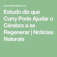 Estudo diz que Curry Pode Ajudar o Cérebro a se Regenerar | Notícias Naturais