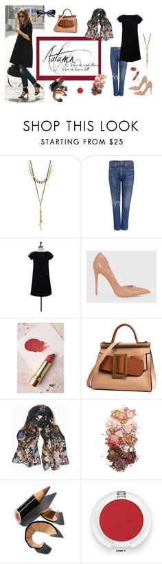 """""""Autumn dress over jeans!"""" by tinita-sjm ❤ liked on Polyvore featuring ASOS, Lucky Brand, Citizens of Humanity, Pierre Cardin, Axiology, White House Black Market, Sigma, Bobbi Brown Cosmetics and SW Global"""