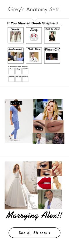 """""""Grey's Anatomy Sets!"""" by the-walking-dead-and-wwe-lover ❤ liked on Polyvore featuring Allurez, beauty, Grey's Anatomy, ASOS, Giuseppe Zanotti, River Island, adidas, bathroom, WWE and Lacoste"""
