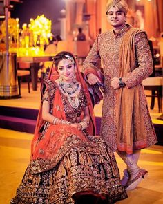 Looking for Royal Indian Bride and Groom? Browse of latest bridal photos, lehenga & jewelry designs, decor ideas, etc. on WedMeGood Gallery. Indian Wedding Poses, Indian Bridal Photos, Indian Bride And Groom, Indian Wedding Outfits, Bride Groom, Indian Weddings, Punjabi Wedding, Desi Wedding, Bridal Outfits