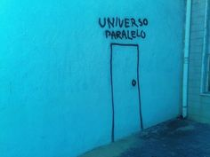 When we find the door to the parallel universe, it will look like this