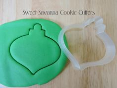 Christmas Bauble No.3 Cookie Cutter by SweetSavannaCookies on Etsy