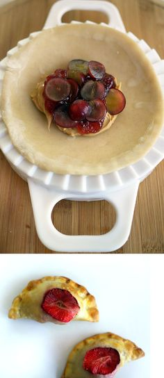peanut butter and jelly with fruit empanadas - want to try making this for the kids with whole wheat dough if I can manage it