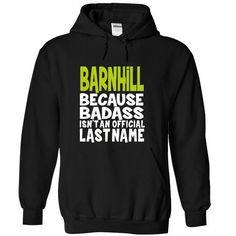 (BadAss) BARNHILL T-Shirts, Hoodies (39$ ==► Order Here!)
