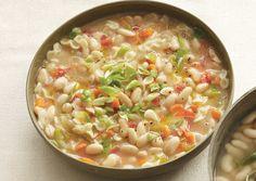 White Bean and Pasta Soup | Bon Appetit