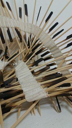Manuel Wandl 2016 Woven object Wishbone Chair, Weaving, Objects, Lights, Home Decor, Decoration Home, Room Decor, Loom Weaving, Lighting