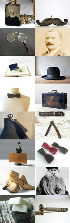 Excuse me, Sir, I Mustache You a Question. by Kyana on Etsy-- vintage for him brought to you by the shops at Vintage and Main