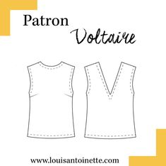 Voltaire Top - The Fold Line Top Dos Nu, The Fold Line, Top Les, Paris Mode, Top Pattern, Sewing Clothes, Sewing Patterns, T Shirt, Women