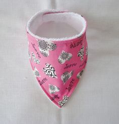 $6.00 Baby Bandana Dribble Bib Handmade Valentine Love Hearts ebay