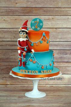 Elf on the Shelf cake - Cake by Erin