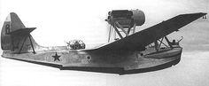 Фото одномоторной летающей лодки МБР-2.  Photo single-engine flying boat MBR-2