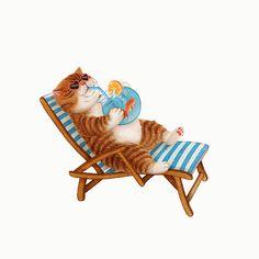 모두들 더운 날 물을 많이 마십시다.💧 #일러스트 #그림 #그림스타그램 #동물 #고양이 #애묘 #색연필 #스케치 #드로윙 #습작 #손그림 #illustration #art #illustrator #artist #draw #illust #cat… Funny Cats And Dogs, Cats And Kittens, Animal Action, Cute Kawaii Animals, Cute Pastel Wallpaper, Cat Drawing, Cute Illustration, Cool Cats, Cat Art