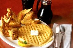 sports shoes 21e12 3bde8 The midnight train   Gladys Knights   Ron Winans  Chicken   Waffles in ATL.