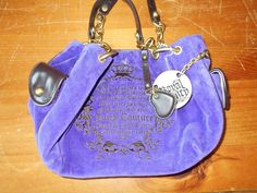 Purple Royal Juicy Medium Size Purse #JuicyCouture #Purse