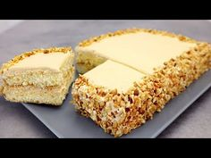 30 perc és kész a finom sütemény! Finom karamellkrém torta # 272 - YouTube Cake Fillings, Cream Cake, No Bake Desserts, Yummy Cakes, Vanilla Cake, Cake Recipes, Cheesecake, Deserts, Food And Drink