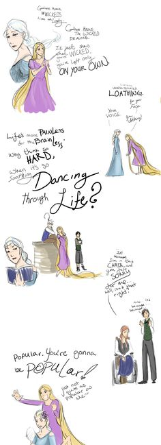 Crossover: Frozen meets Wicked by ZombieOwl.deviantart.com on @deviantART /~/ OH. MY. GOD. This is perfect!!!!! (except for Hiccup as Boq, but that aside) AAAAAUUUUUUUGGGHHHHHHHH!!!!! <3<3<3<3<3<3<3<3 /~/