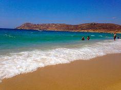 Elia Beach, Mykonos, Summer 2014 http://helenagoesplaces.com/my-fantastic-four-favourite-beaches-of-mykonos/