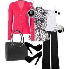 hot pink and zebra print...what more could I want