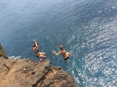 South Point! Cliff diving at 40 ft! Such an experience!