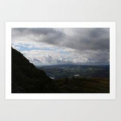 Windermere. Art Print