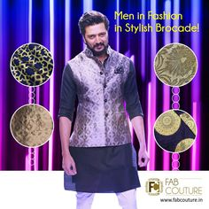 Stylish Brocade fabric in bright and vibrant colors is the perfect pick for weddings and functions. It gives you a vibrancy which helps you stand apart from the rest. Get your stuff at :https://fabcouture.in/brocade.html#FabCouture #RiteshDeshmukh#Fabric#Fashion#TraditionalLook#ModernMen#MensFashion#Brocade#WeddingFashion#IndianLook#affordablefashion#GreatDesignsStartwithGreatFabrics#ConfidentMen#StylishMen#VibrantColors#StandApartfromtheCrowd