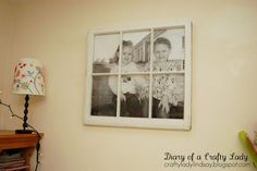 Diary of a Crafty Lady: Old Window Ideas