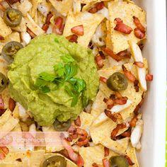 Comida mexicana, nachos machos