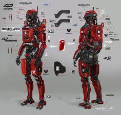Rocketumblr | Elysium Concept Art