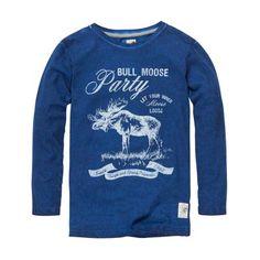 Jake Fischer T-shirt lange mouw voor jongens | www.kleertjes.com kinder- en babykleding