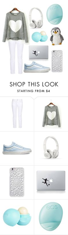 """""""Chilling Out"""" by hazilsilversword ❤ liked on Polyvore featuring STELLA McCARTNEY, Vans, Beats by Dr. Dre, Felony Case, Vinyl Revolution, River Island and Eos"""
