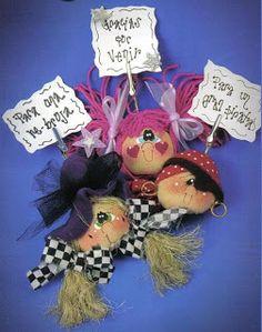 Mimin Dolls: retalhos