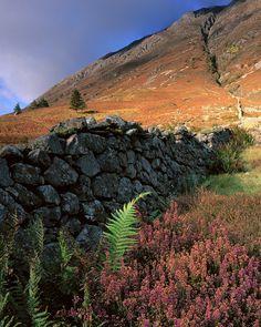 Walking up the Pap of Glencoe, Scotland byTim Parkin