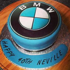 BMW cake @slrpruden