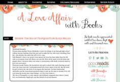 Custom Blogger Blog Design for A Love Affair with Books http://www.aloveaffairwithbooks.com