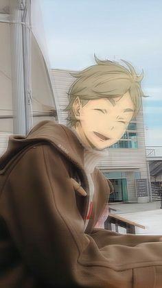 Animes Yandere, Fanarts Anime, Anime Films, Manga Anime, Haikyuu Karasuno, Haikyuu Fanart, Haikyuu Anime, Cute Anime Guys, Funny Anime Pics