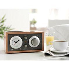 Amazon.com: Tivoli Audio - Model Three BT AM/FM Clock Radio with Bluetooth - Cherry and Taupe: Home Audio & Theater