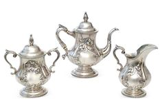 Antique Sterling Silver Tea Service from the US