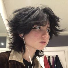 Cut My Hair, New Hair, Hair Cuts, Hair Inspo, Hair Inspiration, Short Grunge Hair, Short Emo Hair, Androgynous Hair, Mullet Hairstyle
