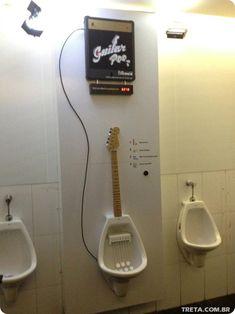 Musical urinal