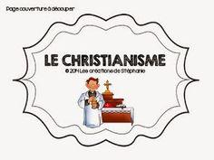 Les créations de Stéphanie: Lapbook : Le christianisme