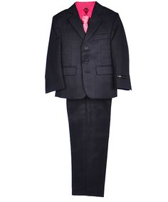 "Boys Suits Spring Fashion Kids World ""Gideon"" 5-Piece Suit $39.99 @Cookie's Kids"
