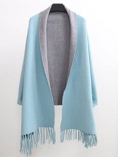 SHARE & Get it FREE | Tassel Lapel Sleeved Cape PashminaFor Fashion Lovers only:80,000+ Items • New Arrivals Daily Join Zaful: Get YOUR $50 NOW!