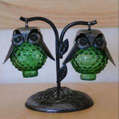 Owl salt n pepper shakers