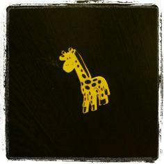 Benim minik zürafam