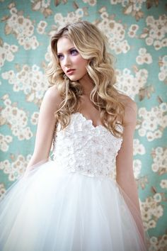 Anais Anette Bridal Collection Spring 2014 - Anais Anette Collections - StyleMePretty LookBook - Style Me Pretty