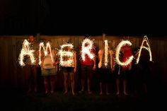 Image result for 4th of july sparkler photoshoot