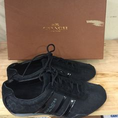Coach  Sneakers Brand New. Black color. Size 5.5 Coach Shoes