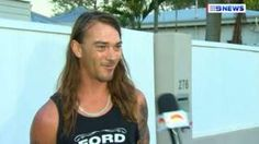 Image copyright                  9news.com.au                  Image caption                                      Daniel McConnell's TV interview has been viewed millions of times online                                An Australian man has shot to fame after telling how – dressed only in his underwear – he chased a driver who crashed into a shop