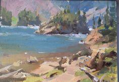 Paintings of stuff Elk lake near walden co
