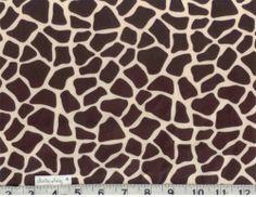 giraffe print fabric Jess!!!!